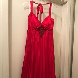 RED BETSY & ADAM COCKTAIL DRESS SIZE 8